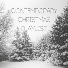 Someplace in the Midst : Contemporary Christmas Playlist