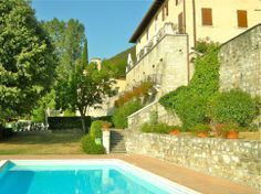 #LakeGarda holiday rental apartment. Beautifully restored apartment in 16th century Palazzo with lake views, residence pool and gardens