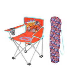 Love this Blaze & the Monster Machine Camp Chair by Blaze and the Monster Machines on #zulily! #zulilyfinds