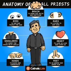 Infographic: The Anatomy Of All Priests | Catholic Link