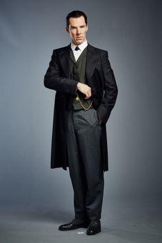 SHERLOCK (BBC) ~ Benedict Cumberbatch as Sherlock Holmes in the pre-Season 4 special, SHERLOCK: THE ABOMINABLE BRIDE.