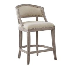Give your dining space a warm and welcoming touch with the Madison Park Wheatley Counter Stool. Swivel Counter Stools, Counter Height Stools, Kitchen Stools, Furniture Legs, Dining Room Furniture, Extra Tall Bar Stools, Neutral, Foot Rest, Seat Cushions