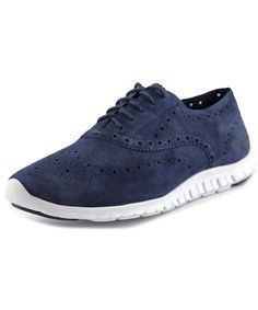 COLE HAAN | Cole Haan Zerogrand Wing Ox    Suede  Fashion Sneakers #Shoes #Sneakers #COLE HAAN