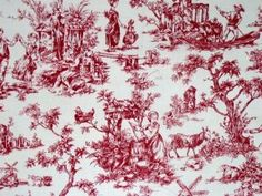 love this toile!