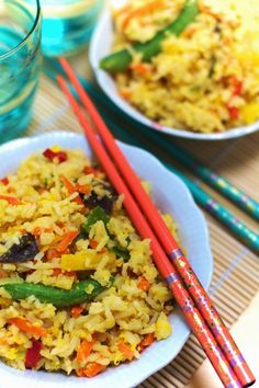 Fried Rice, Healthy Recipes, Healthy Food, Fries, Curry, Health Fitness, Chinese, Tasty, Dinner