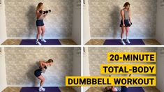 20-Minute Total-Body Dumbbell Workout