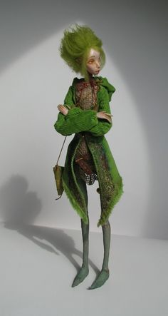 A forest sprite by tirelessartist on etsy