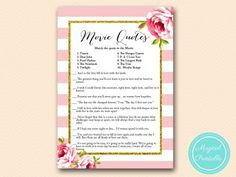 BS11-movie-quote-game-pink-floral-bridal-shower-games