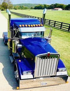 Big Rig Trucks, Semi Trucks, Cool Trucks, Cool Cars, Custom Big Rigs, Custom Trucks, Diesel Pickup Trucks, Trailers, Kenworth Trucks