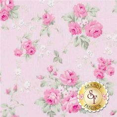 "Slipper Roses PWTW090-Pink By Tanya Whelan For Free Spirit Fabrics: Slipper Roses is a collection by Tanya Whelan for Free Spirit Fabrics. This fabric features small pink rose bouqets tossed on a pink background.Width: 43""/44""Material: 100% CottonSwatch Size: 6"" x 6"""
