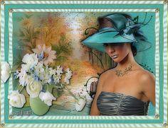 Bleu ..  Turquoise  ... Belle image