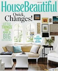 House Beautiful Magazine June 2012