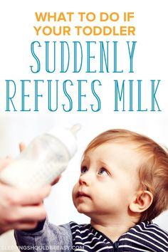 Worried about your toddler suddenly refusing milk when he had always loved it? Here's what to do if your child stopped drinking milk. Drinking Milk, Stop Drinking, Children Will Listen, My Children, Parenting Articles, Parenting Tips, Child Development Stages, Formula Milk, Thing 1