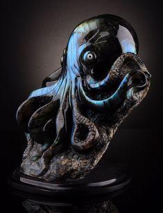 Labradorite octopus.