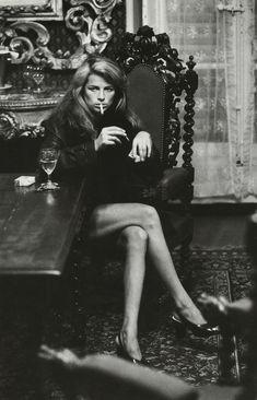 Charlotte Rampling ph Helmut Newton, 1973