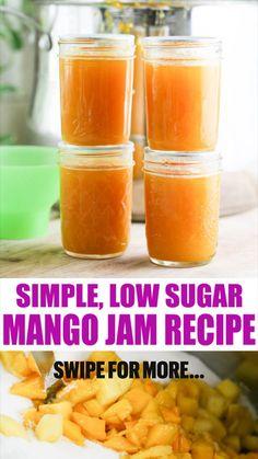 Lemon Water Benefits, Lemon Health Benefits, Mango Jam, Mango Jelly, Peach Jelly, Homemade Jelly, Homemade Jam Recipes, Home Canning, Canning Tips