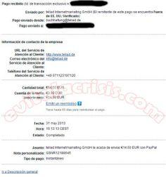 Recibido el 28º Pago de Teliad http://evitalacrisis.com/comprobantes-de-pagos/recibido-el-28o-pago-de-teliad/