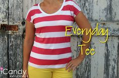 icandy handmade: (tutorial and pattern) Everyday Basics 2: Everyday Tee