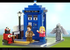COOL!!! LEGO 'Doctor Who And Companions' Set Passes Review to Become an Official Product
