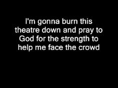 "Theater - Icon for Hire    ""If you like the show you can follow the ashes..."""