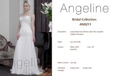 Bride dress Bridal by Anenia Lace Flowers, Bridal Collection, Bridal Dresses, One Shoulder Wedding Dress, Bodice, Tulle, Lace Up, Gowns, Fabric