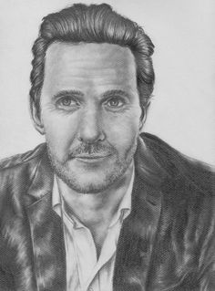 Matthew McConaughey pour #TrueDetective [Copyright : Sheepys_drawings]