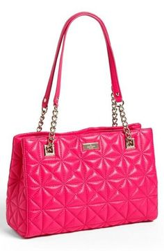 Beautiful quilted handbag.
