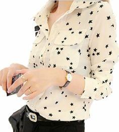 Women White Chic Long Sleeve Stand-up Collar Casual Cotton Shirts Blouse (white) TRURENDI,http://www.amazon.com/dp/B00IM8USU4/ref=cm_sw_r_pi_dp_zkOwtb0YAEF7X9QR