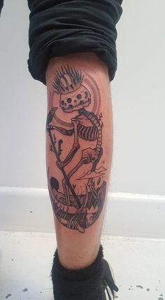 Inspired by Death - By Ben Lopez @ Sayagata Tattoo, Melbourne, Australia : tattoos
