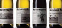 Packaging Spotlight: Marlborough Sun Wines #taninotanino #vinosmaximum