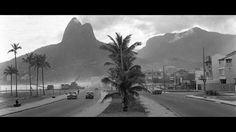 Avenida Delfim Moreira, Leblon 1960 Acervo O globo