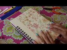 TUTORIAL - agenda 2015 - SCRAPBOOK - YouTube