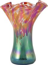 VP561 Mini Ruffle Vase Poppies