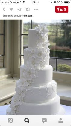 Superbe gâteau de mariage