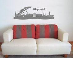 Wandtattoo+Skyline+Wuppertal+von+plot4u+auf+DaWanda.com