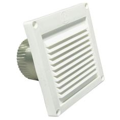 Speedi-Products 3 in. Micro Louver Eave Vent in White