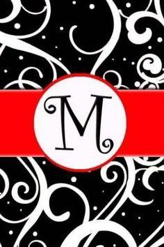 M monograms for michaela
