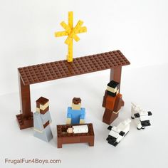 Five LEGO Christmas Projects to Build