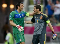 Buffon , Casillas