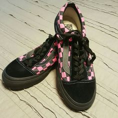 Vans Custom Design Checkerboard Old Skool Vans The Checkerboard Old Skool d6e994d8f