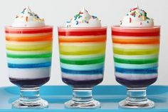 Rainbow Jello (from Glorious Treats)