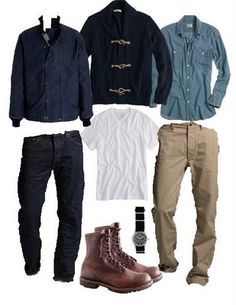 My husband likes this look...he need just as much help as I do when it comes to style!