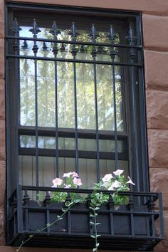 Customized Decorative Flower Box Window Guard by Custom Metal Products
