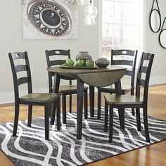 Penzance 5 Piece Drop Leaf Dining Set by Three Posts – StellarHeart Decor, Furniture Deals, Furniture, Dining Nook, Dining Room Small, Home Decor, Dining, Dining Table, Luxury Home Furniture