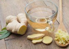 Rebaja entre 8 y 10 kilos con esta dieta - Adelgazar en casa Ginger Root Tea, Ginger Ale, Health Benefits Of Ginger, Tea Benefits, Tea For Colds, Green Tea Detox, Infused Water Recipes, Vegetable Drinks, Immune System