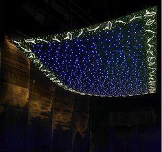 I love this hanging light idea!