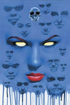 In X-MEN BLACK: MYSTIQUE committing a crime isn't just about the payout. Thievery and murder are an art form, reserved for only the most gifted players. Marvel Villains, Marvel Comics Art, Cosmic Comics, Comics Universe, Female Superhero, Best Superhero, Marvel Comic Character, Marvel Characters, Female Characters