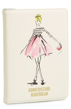 Whether you're in a daydreaming or dancing-til-dawn state of mind, this fun and fabulous folio makes a delightful place to protect and display your iPad mini.