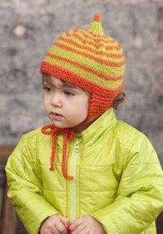 Pumpkin Pixie Hat