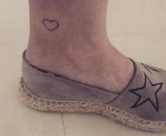Small hearth tattoo
